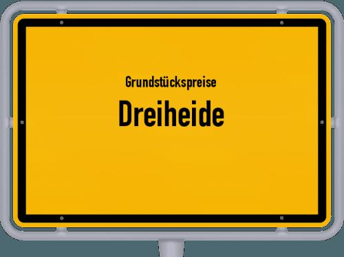 Grundstückspreise Dreiheide 2019