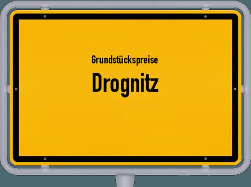 Grundstückspreise Drognitz 2019
