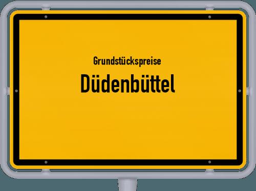 Grundstückspreise Düdenbüttel 2019