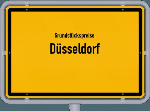 Grundstückspreise Düsseldorf 2021
