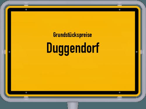 Grundstückspreise Duggendorf 2021