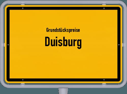 Grundstückspreise Duisburg 2019