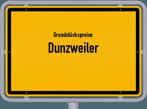 Grundstückspreise Dunzweiler 2019