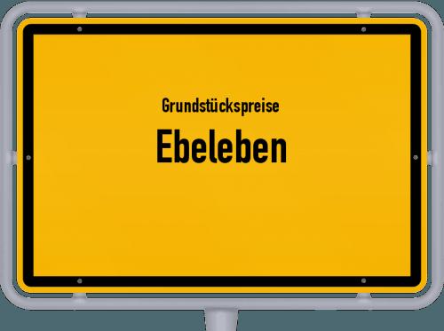 Grundstückspreise Ebeleben 2019