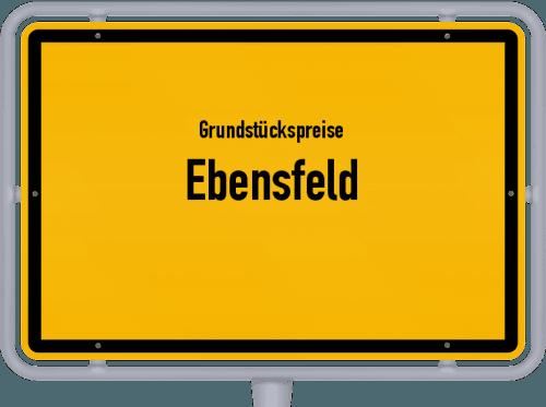Grundstückspreise Ebensfeld 2019