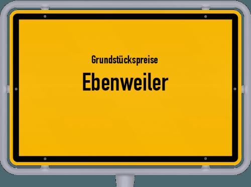 Grundstückspreise Ebenweiler 2021
