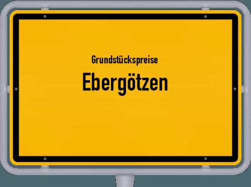 Grundstückspreise Ebergötzen 2019