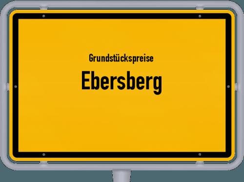 Grundstückspreise Ebersberg 2019