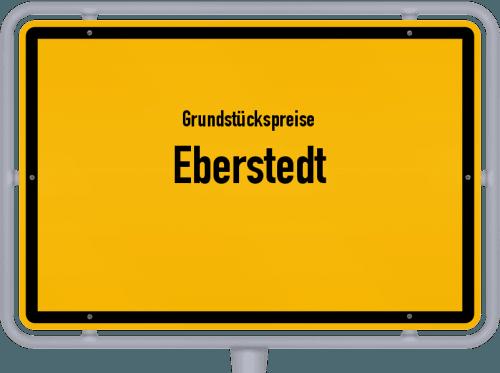 Grundstückspreise Eberstedt 2019