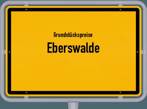 Grundstückspreise Eberswalde 2021