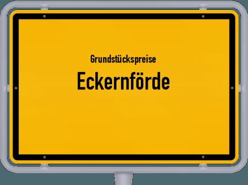 Grundstückspreise Eckernförde 2021