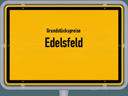 Grundstückspreise Edelsfeld 2019