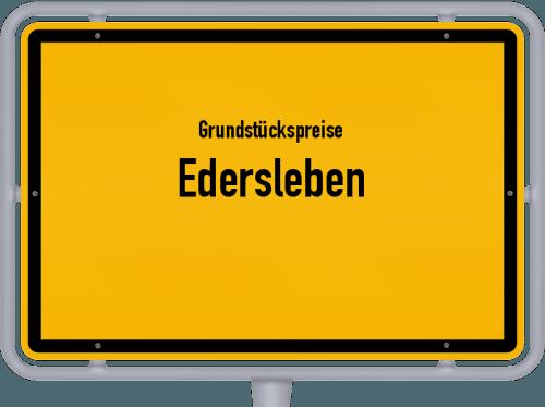 Grundstückspreise Edersleben 2021