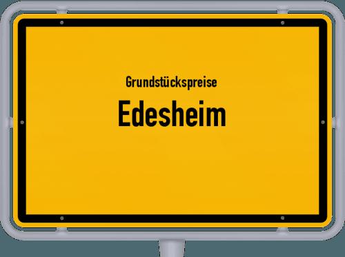 Grundstückspreise Edesheim 2019