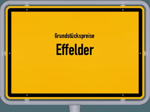 Grundstückspreise Effelder 2019