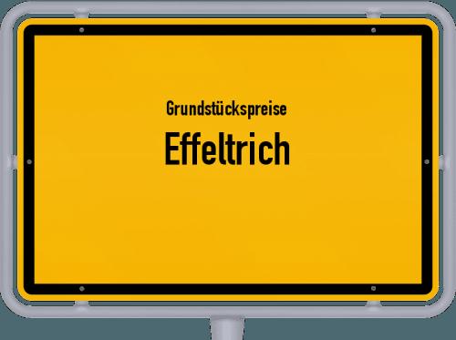 Grundstückspreise Effeltrich 2019