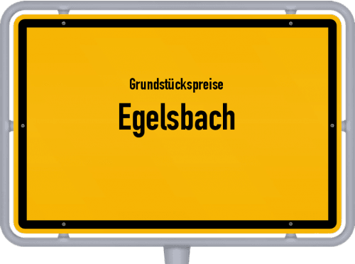 Grundstückspreise Egelsbach 2019