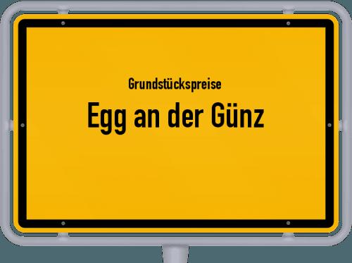 Grundstückspreise Egg an der Günz 2021