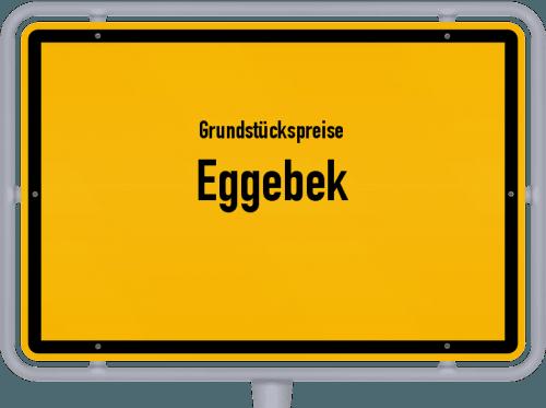 Grundstückspreise Eggebek 2021
