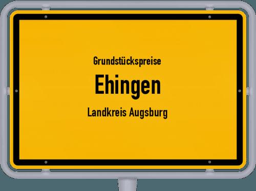 Grundstückspreise Ehingen (Landkreis Augsburg) 2021