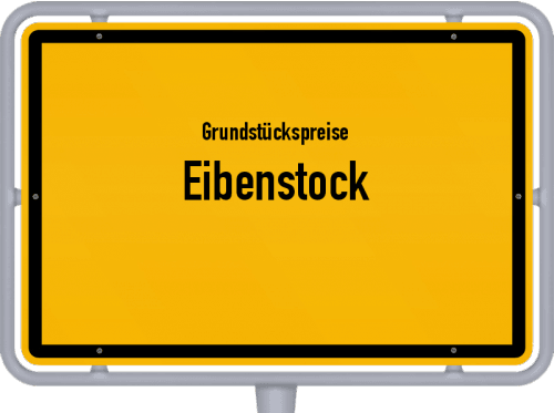 Grundstückspreise Eibenstock 2019