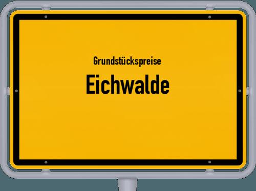 Grundstückspreise Eichwalde 2021