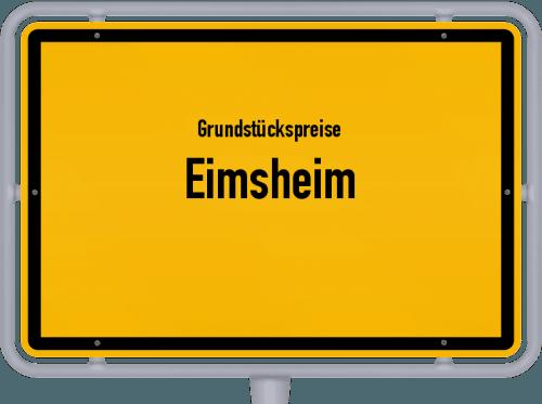 Grundstückspreise Eimsheim 2019