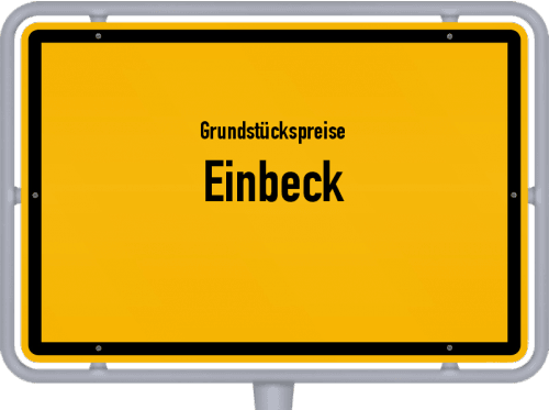 Grundstückspreise Einbeck 2021