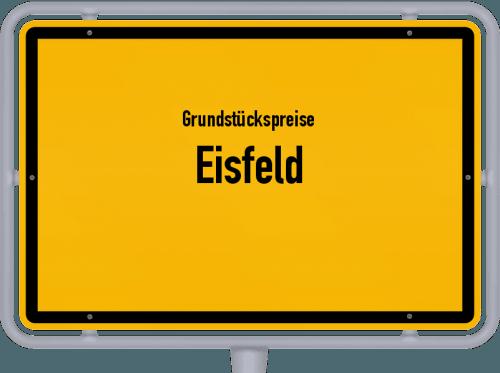 Grundstückspreise Eisfeld 2019