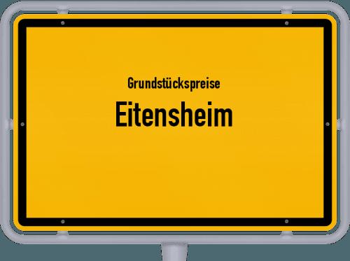Grundstückspreise Eitensheim 2019
