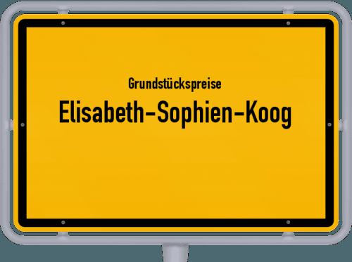 Grundstückspreise Elisabeth-Sophien-Koog 2021