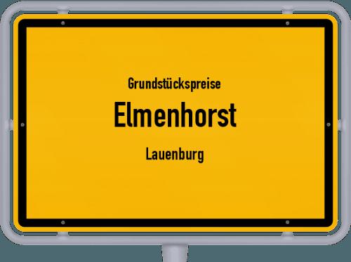 Grundstückspreise Elmenhorst (Lauenburg) 2021