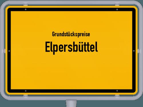 Grundstückspreise Elpersbüttel 2021