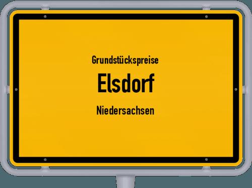 Grundstückspreise Elsdorf (Niedersachsen) 2021