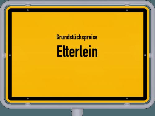 Grundstückspreise Elterlein 2019