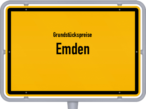 Grundstückspreise Emden 2021