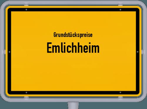Grundstückspreise Emlichheim 2019