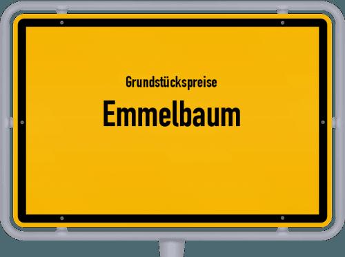 Grundstückspreise Emmelbaum 2019