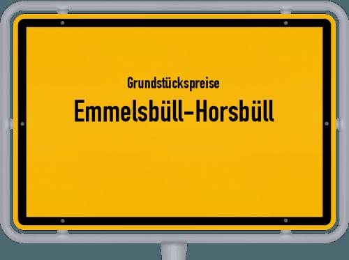 Grundstückspreise Emmelsbüll-Horsbüll 2021