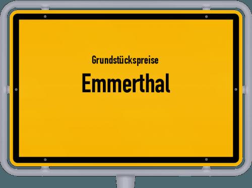 Grundstückspreise Emmerthal 2019