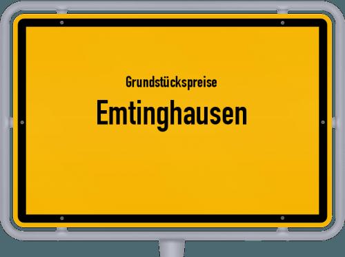Grundstückspreise Emtinghausen 2021