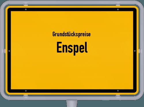 Grundstückspreise Enspel 2019
