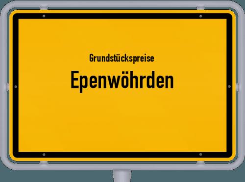 Grundstückspreise Epenwöhrden 2021