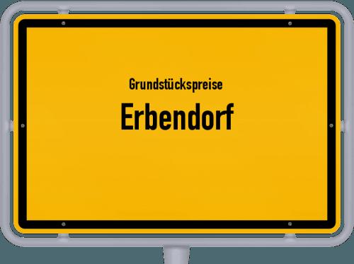 Grundstückspreise Erbendorf 2019