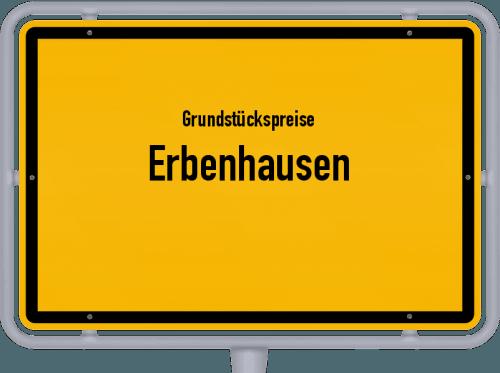 Grundstückspreise Erbenhausen 2019