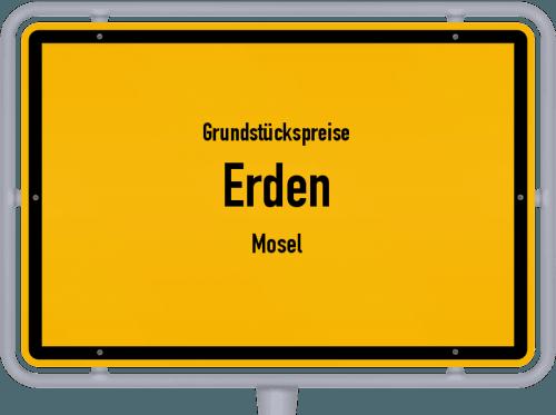 Grundstückspreise Erden (Mosel) 2019