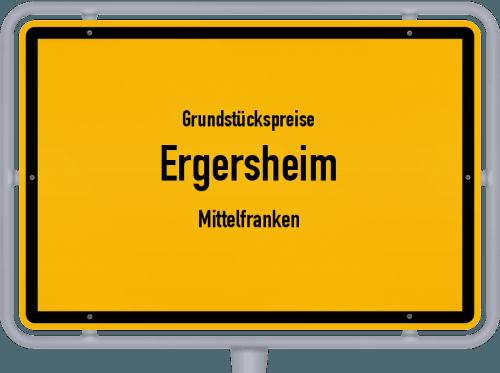 Grundstückspreise Ergersheim (Mittelfranken) 2019