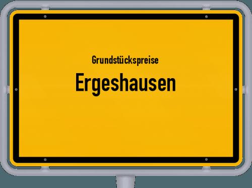 Grundstückspreise Ergeshausen 2019