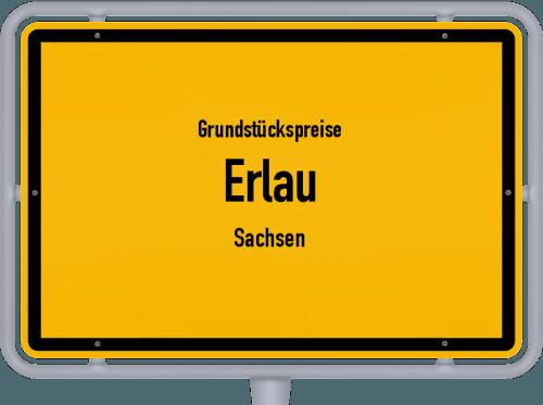 Grundstückspreise Erlau (Sachsen) 2019