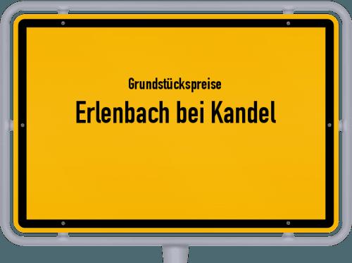 Grundstückspreise Erlenbach bei Kandel 2019